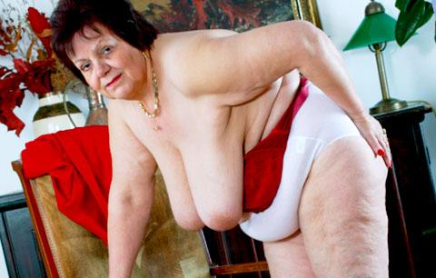 flabby granny